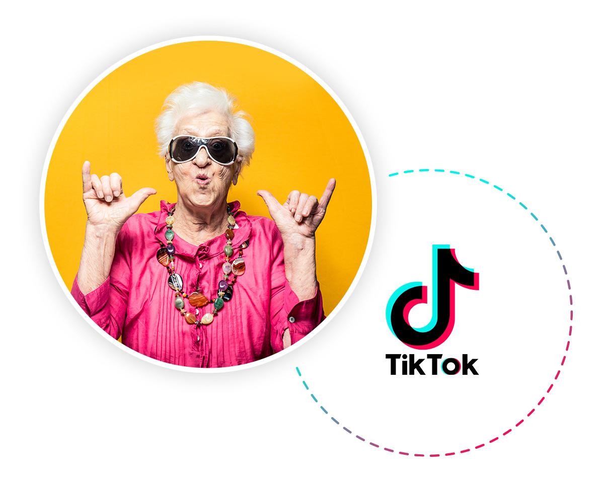 גם סבתות עושות טיקטוק