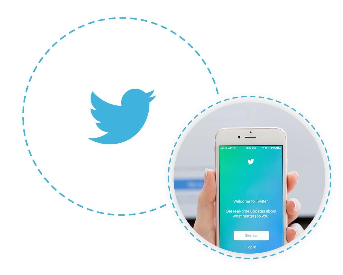 ניהול חשבון טוויטר